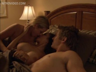 Uncalculated Guy Enjoying a Threesome With Two Breasty Babes