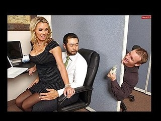 Tanya is in love with her co-worker Pete and tries to hook up with him every chance this hottie gets. The solely problem is TJ, the pecker blocker of the office will at no time let him have her.