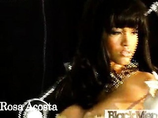 Watch hot Rosa Acosta in her underware.