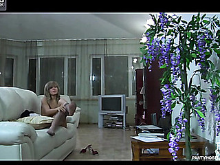 Nora&Oscar nasty pantyhose movie