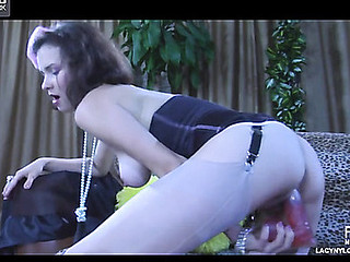 Carrie playful nylons twit
