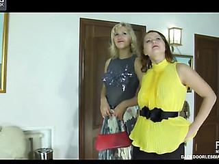 Megan&Flossie anal lesbian video
