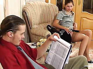 Sophia&Mike great nylon movie scene