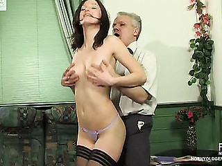 Jaclyn&Caspar beauty and oldman videotape
