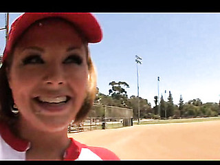 O.G. Mudbone takes on Katie Kox on the baseball field, showing her what his huge wood can do with homeruns. Breasty sweetheart Katie sucked these black run off at the mouth and O.G. didn't hesitate to slip right in that tight moist pussy!