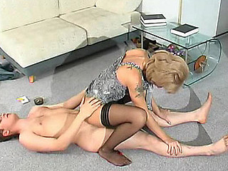 Esther&Gilbert raunchy mature movie scene