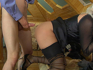 Susanna&Robin uniform pantyhose movie