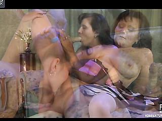 Viola&Cecilia lesbo aged action