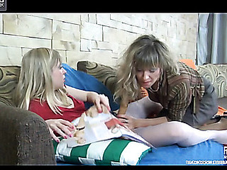 Cora&Paulina sweet anal lesbo movie scene