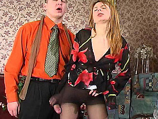 Alice&Peter nasty pantyhose job movie
