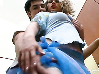 Susanna&Adam violent nylon deception