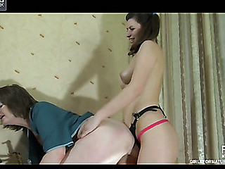 Leonora&Gertie older lesbo video