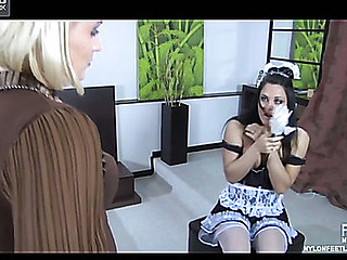 Susanna&April B nylon feet act