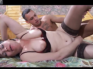 Elsa&Connor raunchy older action