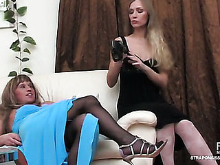 Diana&Adrian ding-dong sissysex action