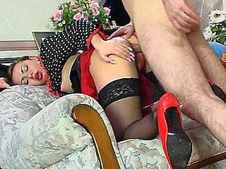Maria&Monty vehement anal invasion clamp