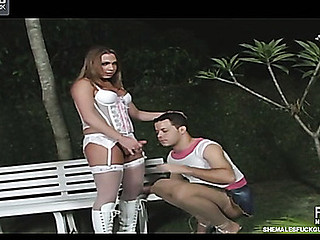 Krys Bertolly lady-man fucking guy on movie