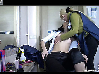 Ottilia&Cora pussyloving older on movie scene