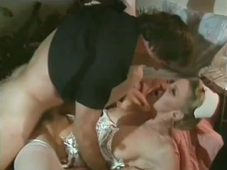 Sexy Lonely Nurse Seduces Studly Policeman