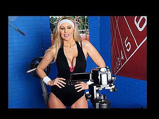 `Julia Ann is a hyper fitness freak putting jointly an edgy workout DVD. That Babe has nearly anything this babe needs: gorgeous bouncing love muffins, an outstanding firm body, a vigorous routine, but still lacks a certain ``je ne-sais-quoi`` to make it complete. One Time this babe spots Tony Ribas in the gym, that babe comes up with a new idea for the DVD that all sexually active women can have a pleasure by putting her scoops into action and sweating herself into a sexy frenzy!`