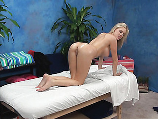 If u are interested in examining how blond beauty with great biggest juggs is having sex with fellow then check up this gripping action now! That Guy massages the beauty with oil and then starts drilling her twat.