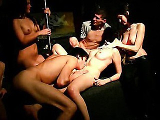 Wild group fuck instalment