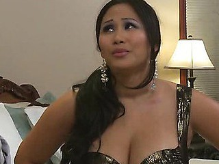 Jessica Bangkok is the kind of loud-mouthed, bitchy wifey whose mouth u'd love to just seal shut. Preferably with a large muscled ramrod. That's where Jordan Ash comes in. When one of Jordan's most fine employees turns down his suggest for a promotion 'coz of his wifey Jessica, Jordan invites the couple over to pray his case. Jessica forbids her spouse to take the job, prompting Jordan to have a private conversation with her - PSP style!