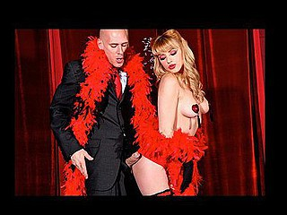 Belle of rub-down the Burlesque