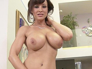 Large tit mother I'd like to fuck Lisa Ann is picture perfect when u look down at her fondling your balls and salivating all over your dick. Those juggs hanging beneath her as that hottie strokes your shaft and sucks the entire way up and down along the edge of your dong. Be a sport and give her the mouthful that hottie is begging for!