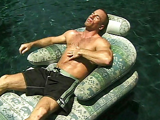Watch Chris Ryan and Jack Reilly when they get hot one sunny day, and decide to go for some skinny-dipping in the pool. It didn't take lengthy before these homo bodybuilders started checking out every other's ass and having their tight assholes stuffed with every