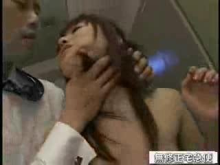 Asian schoolgirl screwed in the cubby-hole yard