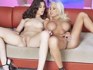 Puma Swede and  Faith Leone eat eachothers soaked pussys.