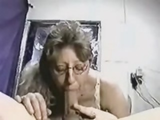 Intelligent cocksucker gives her pretty head to her lover, who possesses really giant and beefy instrument, which she loves so much.