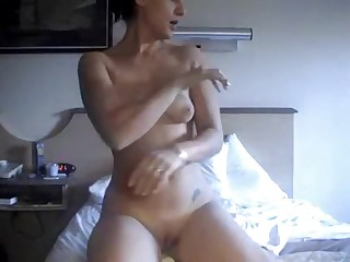 It's always exciting to watch a couple's very first non-professional porn video. You can tell the chick's a bit shy at first, but then she relaxed and let herself go