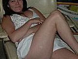 This Argentinian mature woman is a real whore, u can watch that in this video that is made out of her dirty pictures, u can even watch her hairy muff dripping cum.