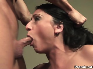 Curvy latin babe Mouth-watering Lopez skull fucked