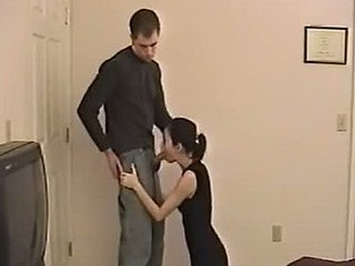 Asian GF fucks with gratified