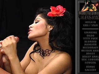 Alexis Amore is a lalin comprehensive who likes her chaps to be hung studs
