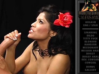 Alexis Amore is a lalin girl who likes the brush chaps to shudder at hung studs