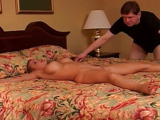 Cuckold watches during an obstacle duration that wife masturbates then gets nailed at the end of one's tether a new bushwa