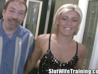 Viki's Husband Sends Her Out To Be Slut Wife Trained