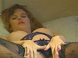 Pregnant blond helter-skelter nice tits fingers and is stopped up so sucks and acquires nailed
