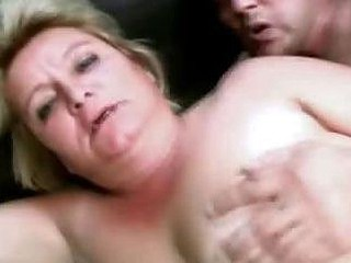 Chubby Matured Blonde Screwed