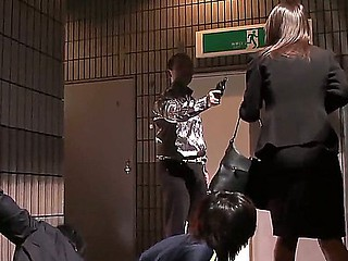 Bad ass honey Rina Fujimoto receives caught and deep penetrated by horny men