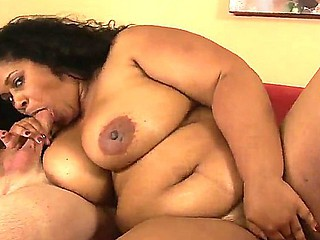 Fatty chick Delilah Darkling enjoys having her beamy muff ruptured in amazing hardcore