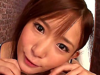 Teen east Akie Harada receives deep and wanton after a long time having a stiff pecker to bit just about
