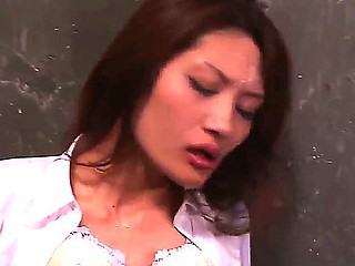 Arresting and sexy Japanese secretary Rina Fujimoto is common for hardcore fucking