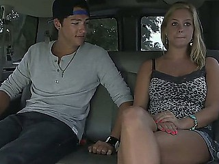 Meaningfully marvelous Anabelle Pync is lured come into possession of a bang bus with the pledge of cash