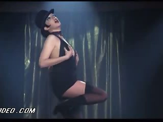 Retro Babe Liza Minnelli Dancing In Lingerie in a Hot 'Cabaret' Episode