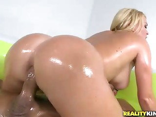 Big Oiled Ass. Bikini and Sex Krissy Lynn